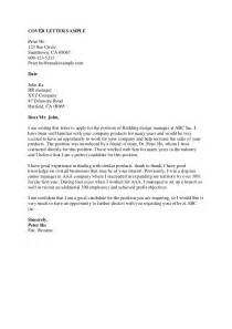 sample cover letter marketing director