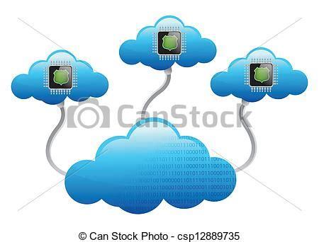 imagenes vectoriales informatica pedacitos concepto nubes red inform 225 tica concepto