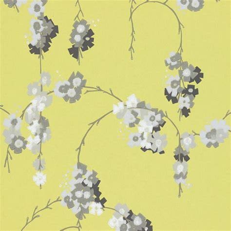 grey wallpaper harlequin giselle wallpaper chartreuse grey white 110134