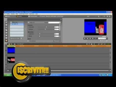 tutorial video pinnacle tutorial doppia immagine su video pinnacle studio 14