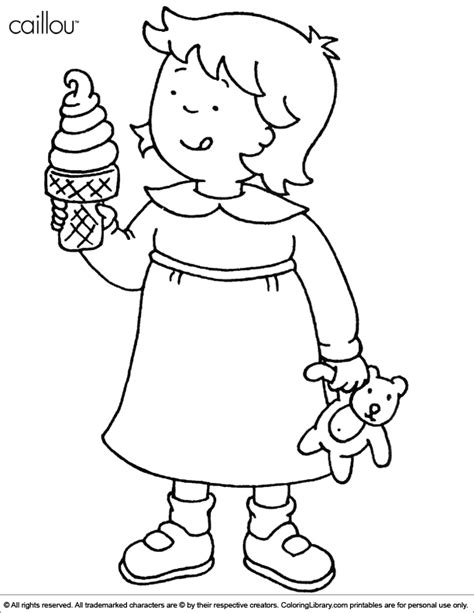 caillou coloring pages pdf 12 coloring pages of caillou print color craft