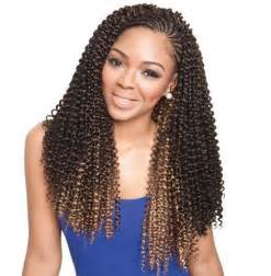 pretty latch braids hairstyles model model synthetic glance crochet latch hook bulk braid
