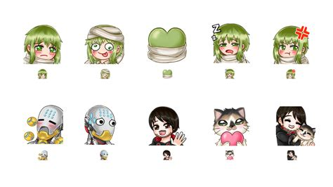 Twitch Emote And Sub Badges Divetus Twitch Emote Template