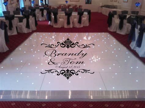 names for vinyl flooring damask theme floor decal wedding day fancy calligraphy font floor