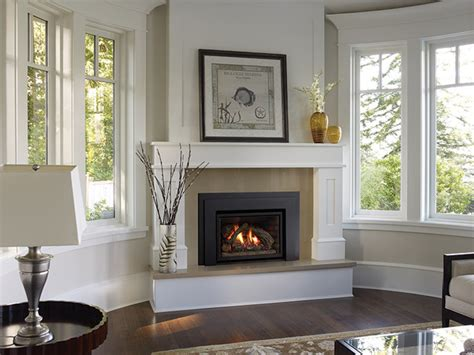 houzz fireplace regency liberty l390e gas fireplace insert traditional
