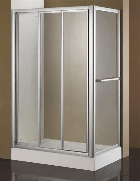 Triple Lingage Sliding Shower Screen Buy Triple Lingage Three Panel Shower Door
