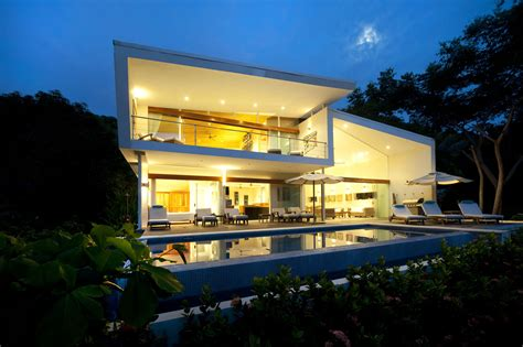 The White House Of Playa Hermosa Poirier Design Archinect Hermosa House Costa Rica
