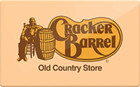 Cracker Barrell Gift Card - cracker barrel gift card discount 20 00 off