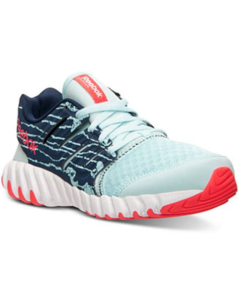 macys athletic shoes reebok s twistform running sneakers from finish line