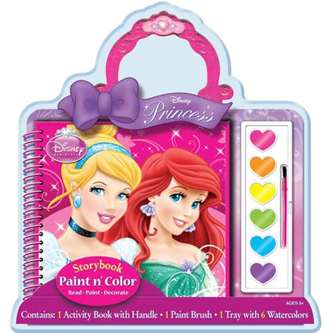 disney pricesses paint and color walmart