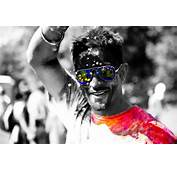 Holi Festival Black And White Photography With Color  II