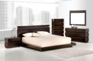 black wood bedroom furniture contemporary wood