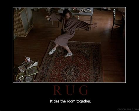 Big Lebowski Rug Quote by Rug Culture