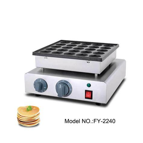 Teflon Pancake poffertjes maker plates commercial mini pancake maker