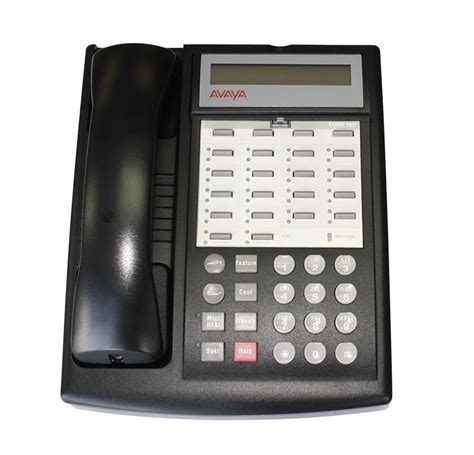 avaya lucent partner 18d series 1 black telephone phone