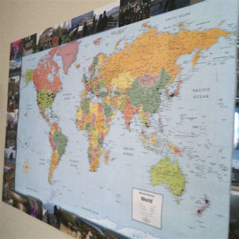map where i ve been in the world world map surrounded by pictures of places i ve been i