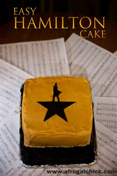 easy   alexander hamilton cake