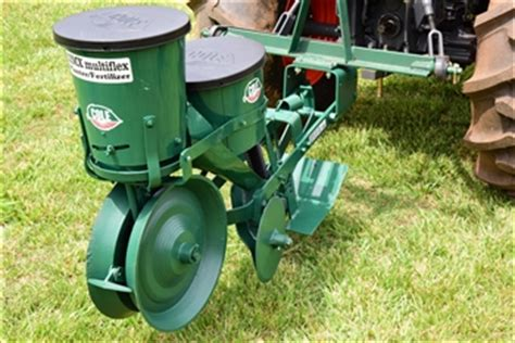 Single Row Seed Planter by Cole Planter 12 Mx Planter Seed Planter