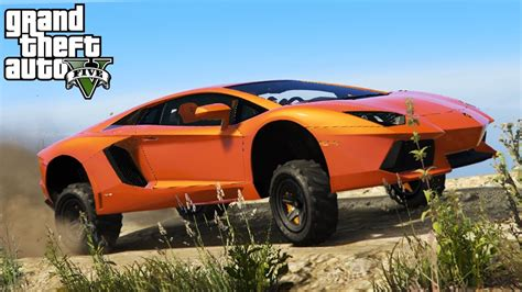 Lifting A Lamborghini Aventador 4x4 Off Roading Lift Kit