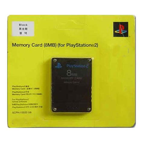 Memory Card Mc Ps2 8mb Hitam china memory card for ps2 8mb 64mb china memory card for ps2 8mb memory card for ps2