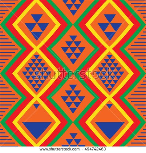 set traditional african ndebele patterns vector stock set traditional african ndebele patterns vector stock
