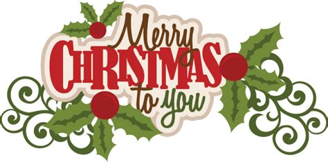 merry christmas titles merry to you svg scrapbook title svg cut file cut files