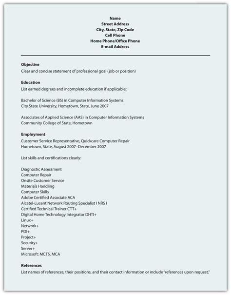 electronic resume scannable resume text only resume scannable resume