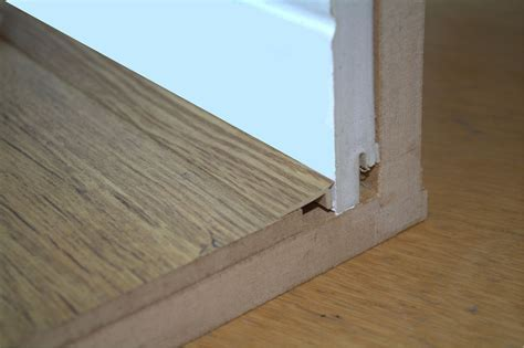 Floor Edge Trim Adhesive New 10 x 2mtr = 20M Bridge Gap