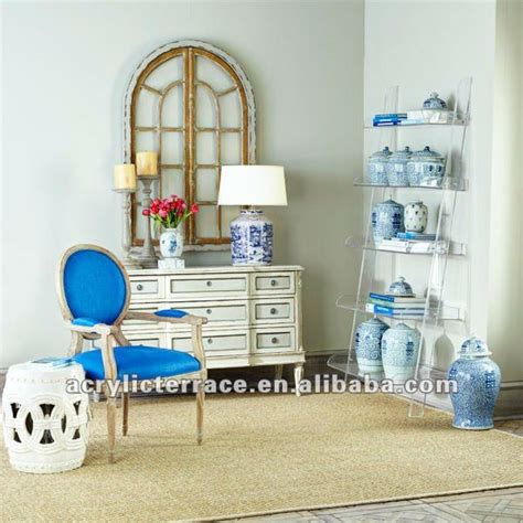 acrylic leaning bookshelf model j1116031 buy acrylic