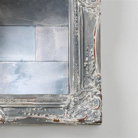 antiqued mirror tiles by hand crafted mirrors notonthehighstreet com