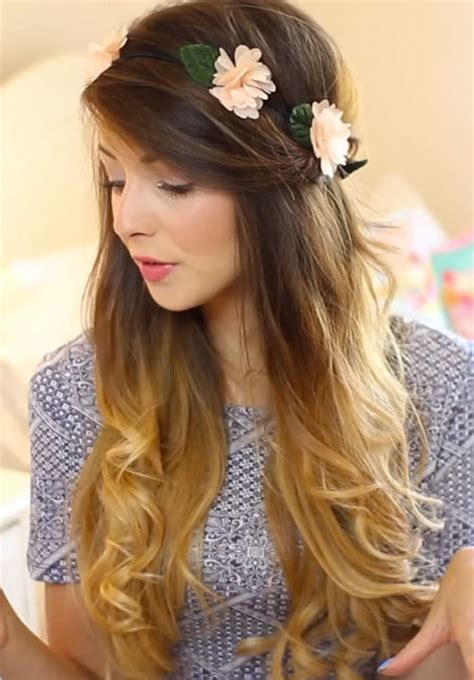 hairstyles for long hair zoella zoella s hairstyles hair colors steal her style page 4