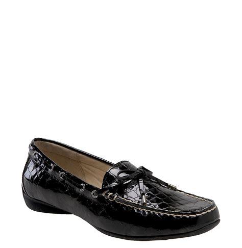 sperry top sider sconset slip on boat shoe in black black
