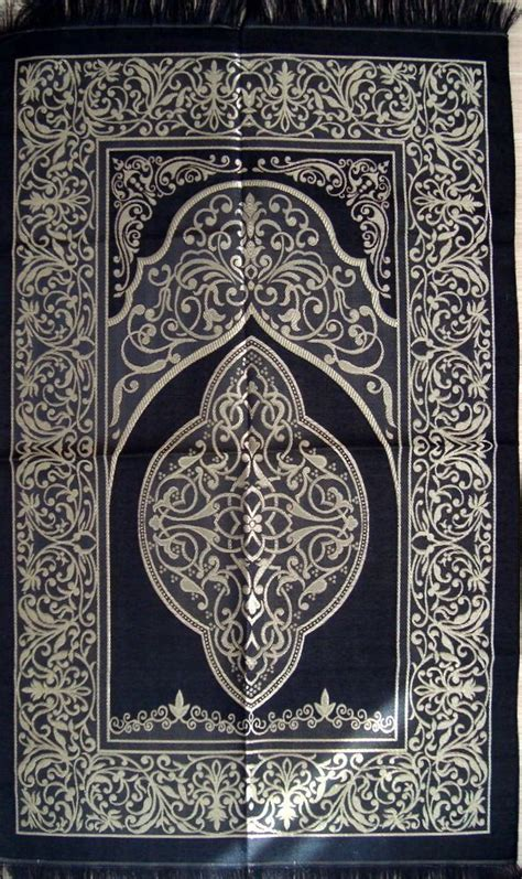prayer rugs islam black islamic prayer rug carpet mat namaz salat musallah ottoman pattern islamic prayer
