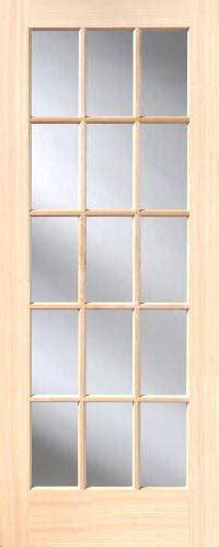 15 Lite Interior Door Poplar 15 Lite Interior Doors Homestead Doors