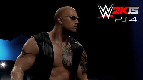 Minifig World Entertainment The Rock Undertaker 2k15 ps4 xb1 the rock attire heel 2003
