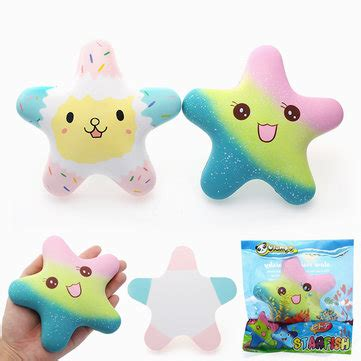 Starfish Squishy Glow In The Squishy By Vlo vlo squishy starfish luminous glow in rising original packaging collection gift