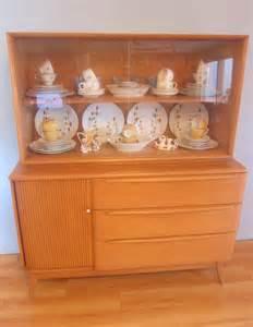 heywood wakefield china cabinet 1950s vintage heywood wakefield tambour door buffet