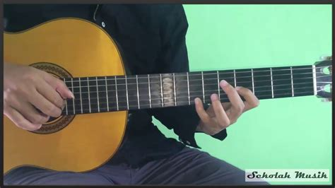tutorial gitar payung teduh belajar lagu untuk perempuan yang sedang dalam pelukan