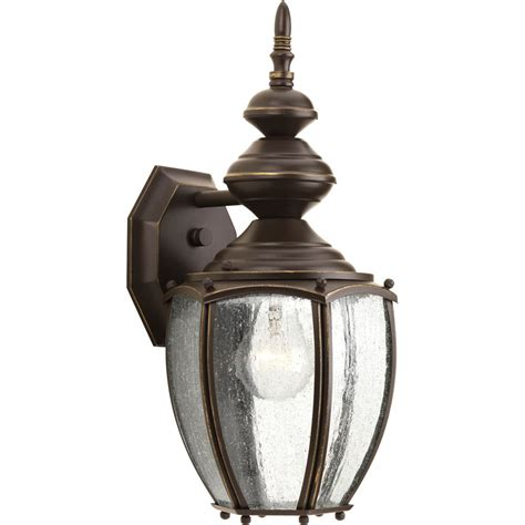 Coach Lights Outdoor Shop Progress Lighting Coach 15 25 In H Antique Bronze Outdoor Wall Light At Lowes