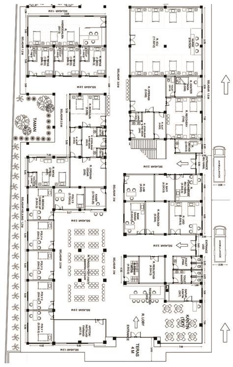 Layout Dapur Rumah Sakit Tipe A | gambar layout rumah sakit rumah sakit narariya husada