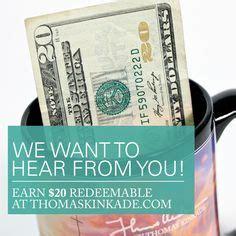 Www Surveymonkey Com Gift Card - 1000 images about thomas kinkade promotions on pinterest thomas kinkade wrapped