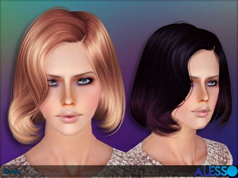 sims 3 resource hair anto studio hair