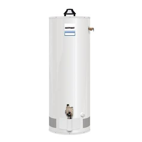 hotpoint hotpoint 40 gallon gas water heater 6