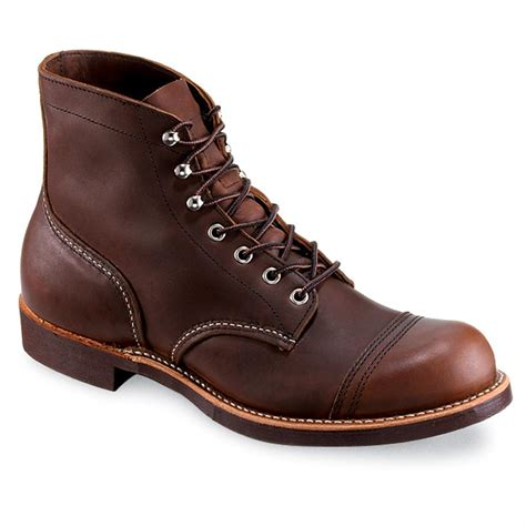 mens redwing boots s wing 174 iron ranger boots 148408 work boots at