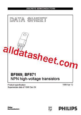 Mpsa42 Philips Nos bf869 datasheet pdf nxp semiconductors