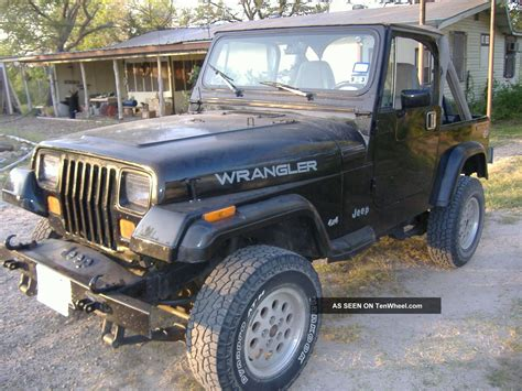 1989 Jeep Wrangler 2 5 Engine 1989 Jeep Wrangler Yj