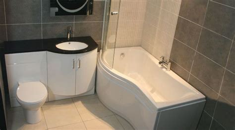 p shaped shower bath suites sparkle p shape vanity bathroom suite with waterfall taps bathroom suites
