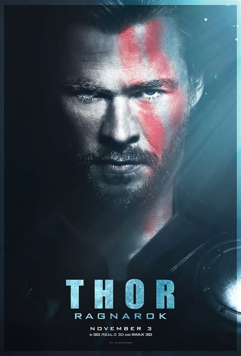 film thor sebelum ragnarok thor ragnarok poster fan made by tldesignn on deviantart