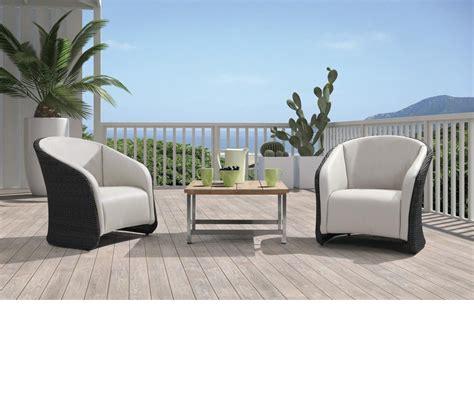 patio lounge set dreamfurniture h72 modern patio lounge set