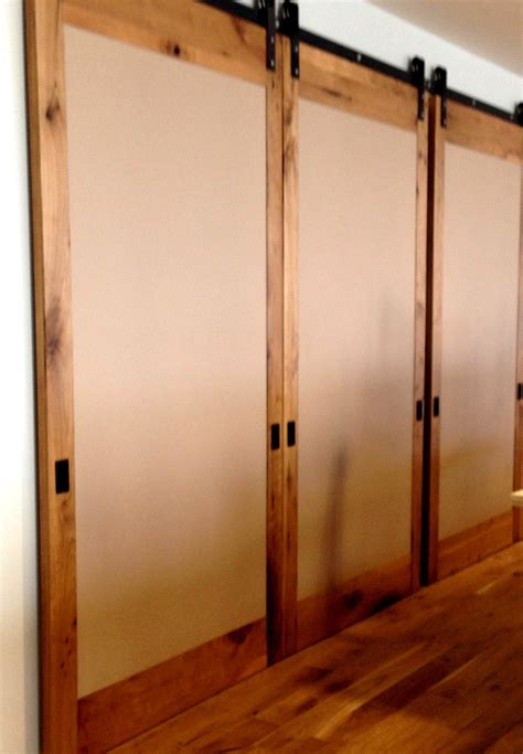 Barn Door Room Divider Insulated Large Sliding Folding Doors Large Sliding Doors